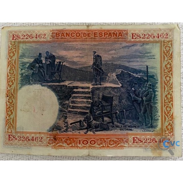 BILLETE DE 100 PESETAS JULIO DE 1925