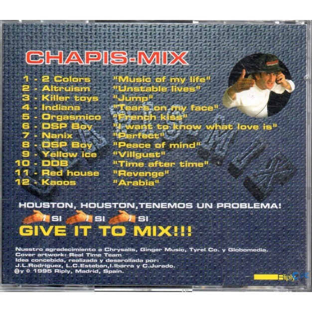 CD CHAPIS MIX GIVE IT TO MIX