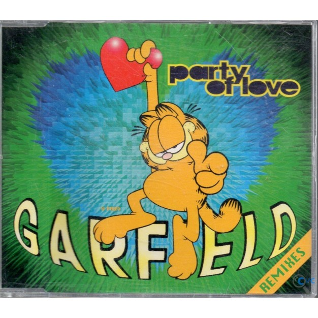 CD SINGLE GARFIELD PARTY OF LOVE