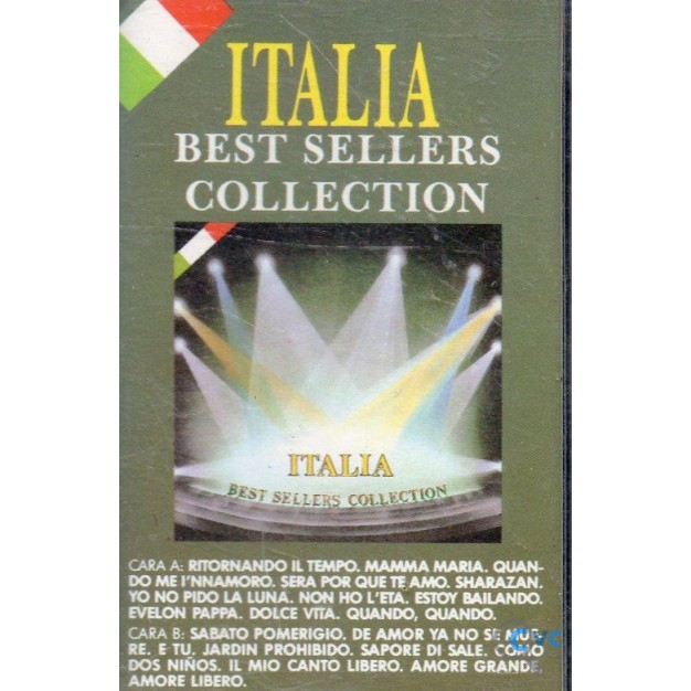 CASETE ITALIA BEST SELLERS COLLECTION