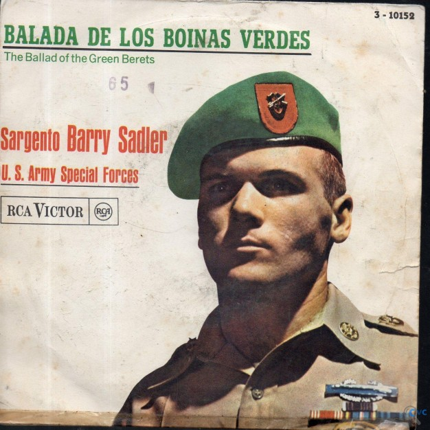 SINGLE BALADA DE LOS BOINAS VERDES THE