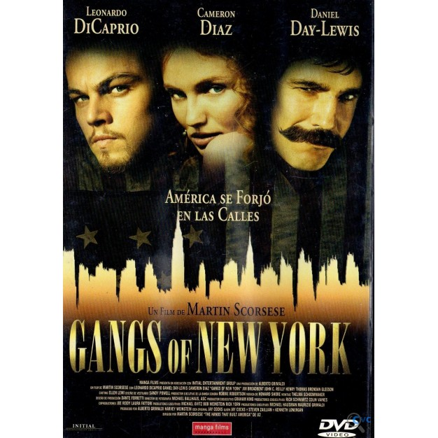 DVD GANGS OF NEW YORK